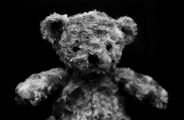 Black and white teddy bear (mymodernmet.com/profiles/blogs/beautiful-black-and-white)